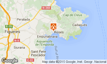 Mapa Rosas Apartamento 72119
