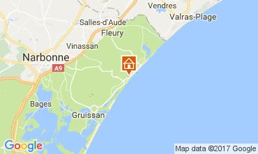 Mapa Narbonne Apartamento 109690