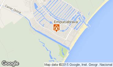 Mapa Ampuriabrava Villa 39089