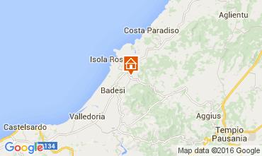 Mapa Isola Rossa Apartamento 60142