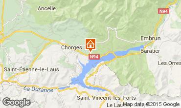 Mapa Réallon Chalet 2488