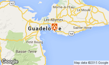 Mapa Gosier (Guadalupe) Apartamento 86341