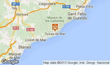Mapa Tossa de Mar Apartamento 98304