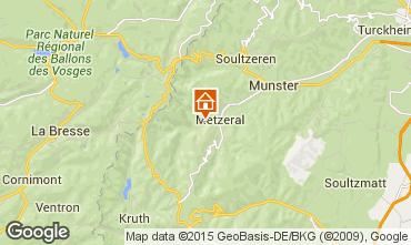 Mapa Colmar Chalet 27574