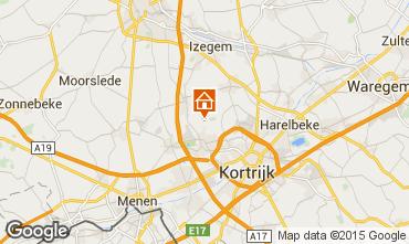 Mapa Kortrijk Casa rural 78556