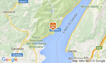 Mapa Toscolano-Maderno Apartamento 105627