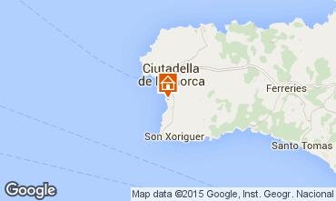 Mapa Cala Blanca Villa 42426