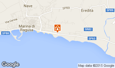 Mapa Marina di Ragusa Bungalow 94581