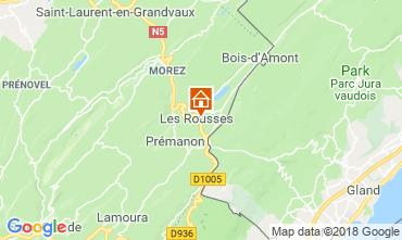Mapa Les Rousses Apartamento 117146