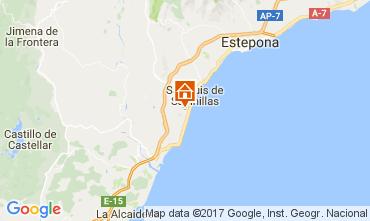 Mapa Manilva Apartamento 111702