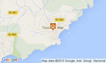 Mapa Tossa de Mar Apartamento 98268