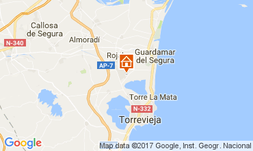 Mapa Torrevieja Casa 110249