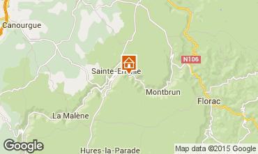 Mapa Sainte-Enimie Casa 86673