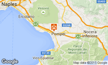 Mapa Pompei Apartamento 26954