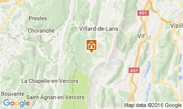 Mapa Villard de Lans - Corren�on en Vercors Apartamento 3643