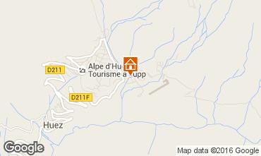 Mapa Alpe d'Huez Apartamento 100719
