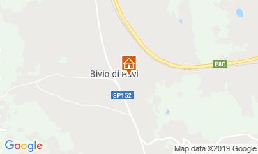 Mapa Gavorrano Casa rural 80832