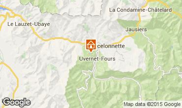 Mapa Pra Loup Chalet 2335