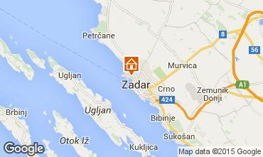 Mapa Zadar Apartamento 24286