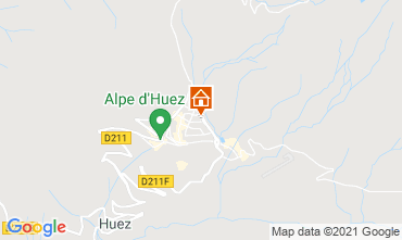 Mapa Alpe d'Huez Estudio 80613