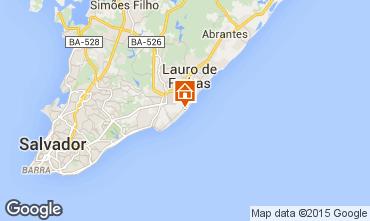 Mapa Salvador de Bah�a Apartamento 59826
