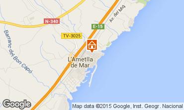 Mapa La Ametlla de Mar Apartamento 64059
