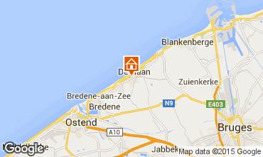 Mapa Ostende Apartamento 86926