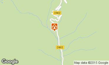 Mapa Arvieux en Queyras Apartamento 538