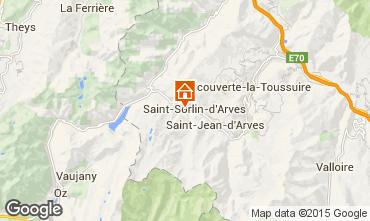 Mapa Saint Sorlin d'Arves Apartamento 2684