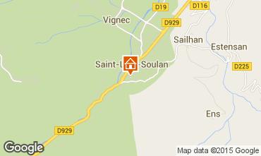 Mapa Saint Lary Soulan Apartamento 4439