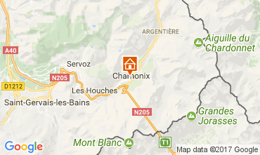 Mapa Chamonix Mont-Blanc Apartamento 112088