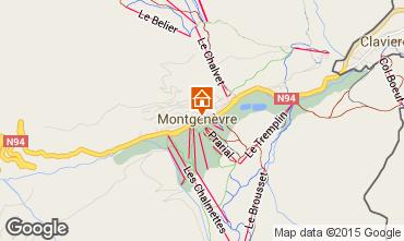Mapa Montgenevre Casa 16964