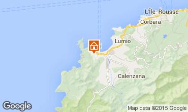 Mapa Calvi Villa 28209