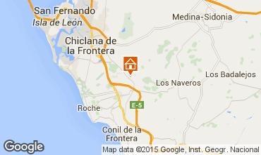 Mapa Chiclana de la Frontera Villa 82237