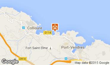 Mapa Collioure Apartamento 93240