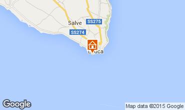 Mapa Santa Maria di Leuca Apartamento 95923