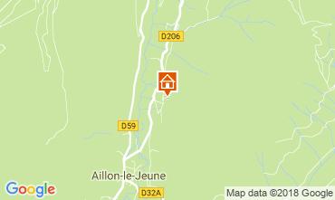 Mapa  Casa rural 115914