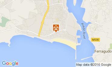 Mapa Praia da Rocha Apartamento 44018