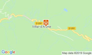 Mapa La Grave - La Meije Apartamento 32294