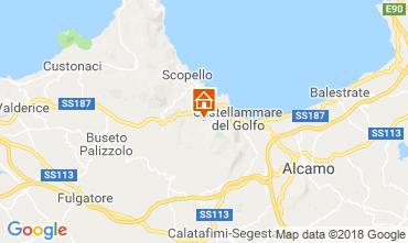 Mapa Scopello Villa 117081