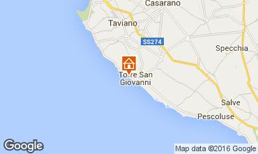 Mapa Ugento - Torre San Giovanni Apartamento 84985