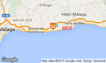 Mapa Málaga Apartamento 82679