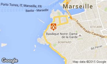 Mapa Marsella Apartamento 101676