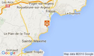 Mapa Les Issambres Villa 104843