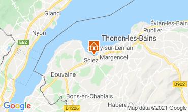Mapa Thonon Les Bains Chalet 14972