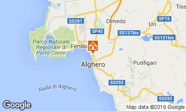 Mapa Alghero Apartamento 65932