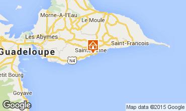 Mapa Sainte Anne (Guadalupe) Apartamento 73786