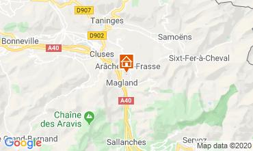 Mapa Les Carroz d'Araches Estudio 60427