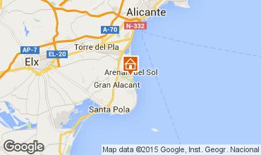 Mapa Alicante Apartamento 75868