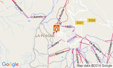 Mapa La Plagne Estudio 106797